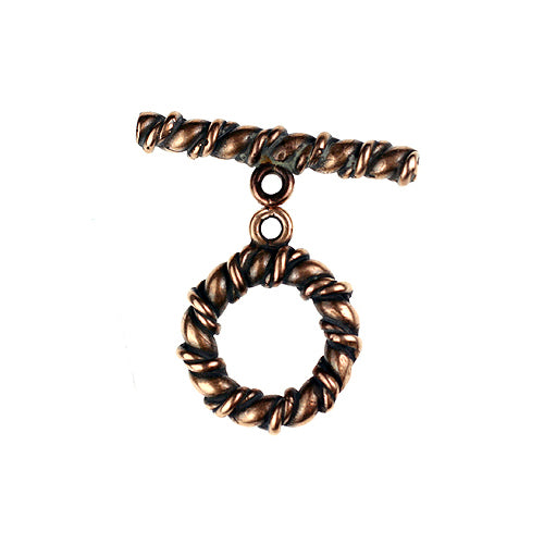BZCT 8740 Bronze Heavy twisted rope toggle