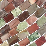 16x10mm Imperial Jasper Rectangles