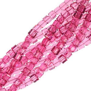 8mm Rose Swarovski Crystal