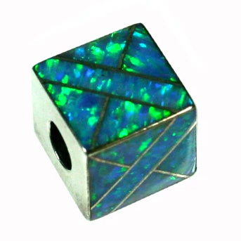 Inlay Cube 12mm3 Opal