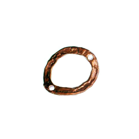 Bronze thin link/ring;