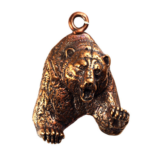 Bronze Bear Pendant