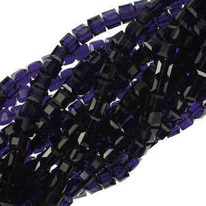 8mm Purple Velvet Swarovski Crystal