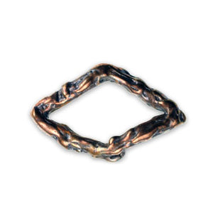 Diamond Shaped Bronze Ring
