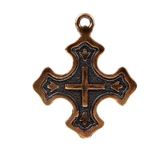 Bronze Westminster Inspired Cross