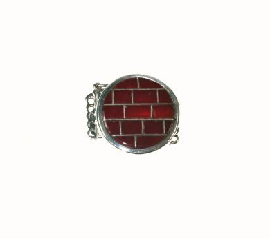 Red Carnelian Box Clasp