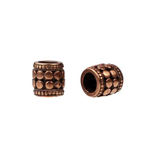(bzbd078-N0302a) Barrel Bead - Scottsdale Bead Supply