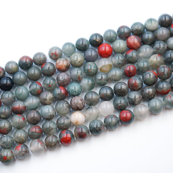 10MM Round African Bloodstone