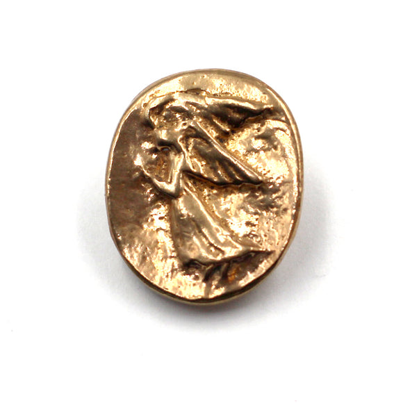 (BZBN 001) Bronze Angel Button
