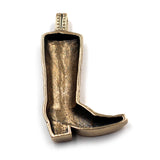Bronze Boot Pendant