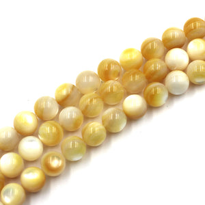 (goldlip003) 10mm Gold Lip Mother of Pearl