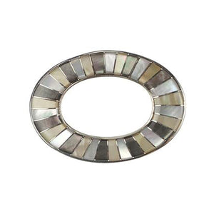 Inlay Large Loop Multi-Stone