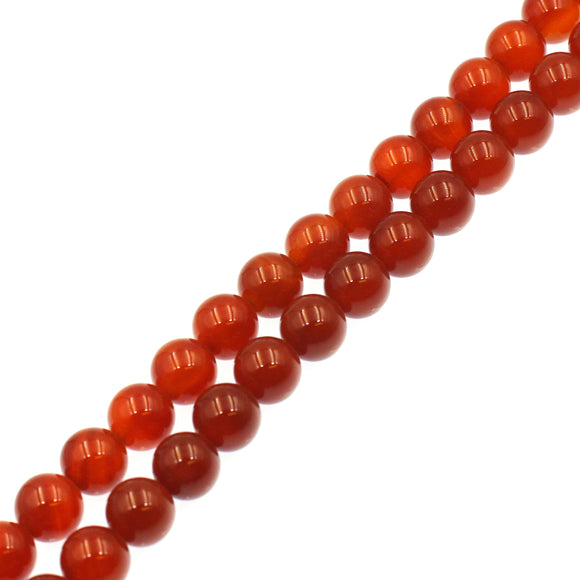 (carn022) 12mm Carnelian Rounds