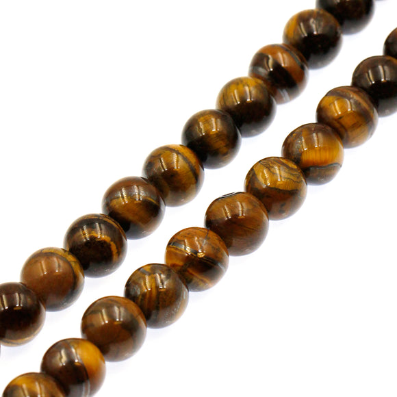 (tig007) 12mm Tigers Eye Rounds