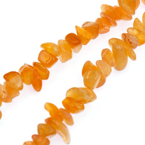 (chal002) Orange Chalcedony Nuggets