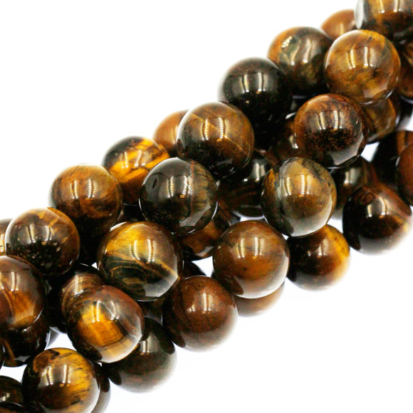 (tig011) 10mm Tigers Eye Rounds