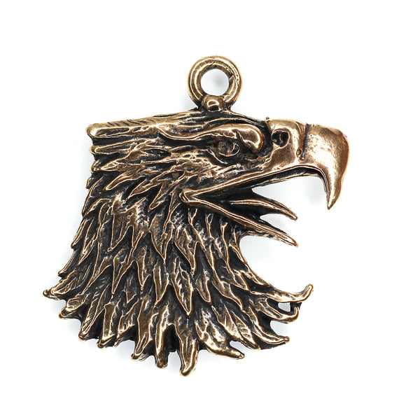 (bzp360) Eagle Head Pendant
