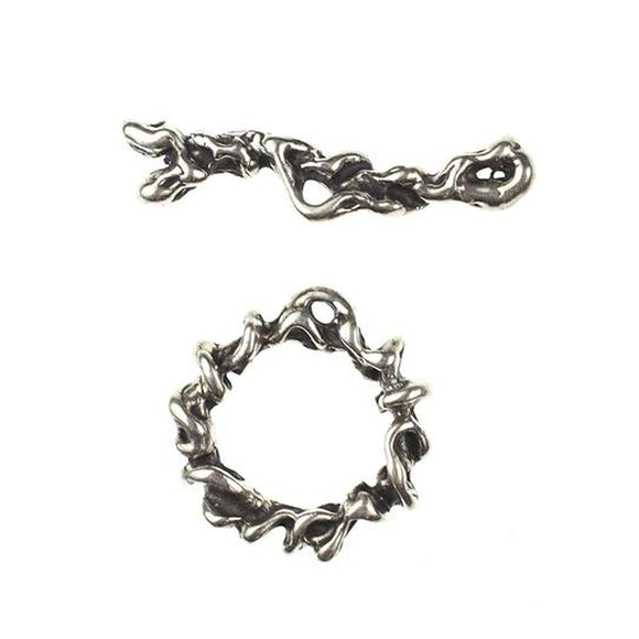 (Stg-023) Sterling Toggle Set