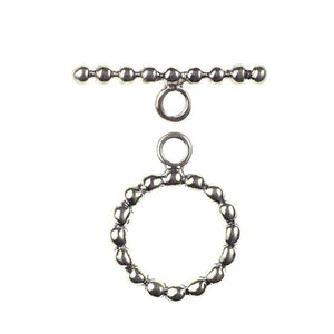 (Stg-029) Sterling Toggle Set