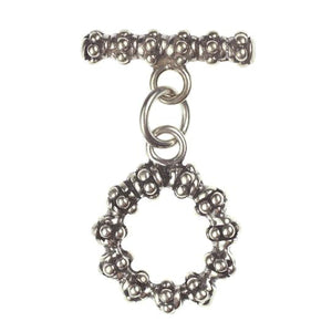 (Stg-034) Sterling Toggle Set