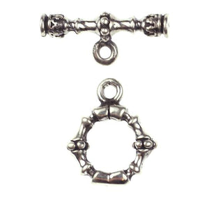 (Stg-040) Sterling Toggle Set