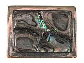 5-Strand Paua Shell Rectangle Box Clasp