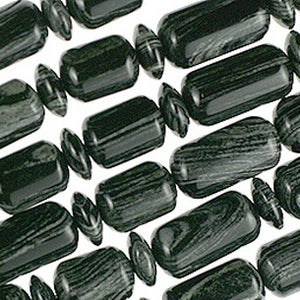 (azebra002) Arizona Zebra Stone - Scottsdale Bead Supply