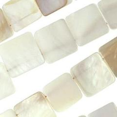 15mm Mother of Pearl Squares