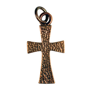 Bronze Textured Cross