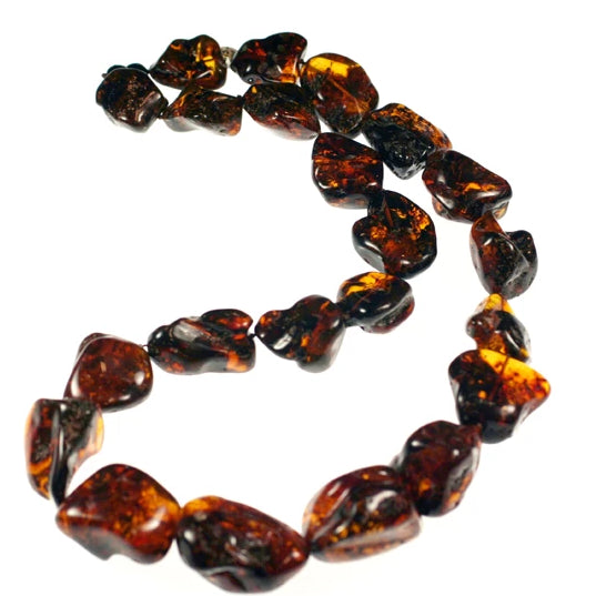 (amber002) Amber Nuggets - Scottsdale Bead Supply