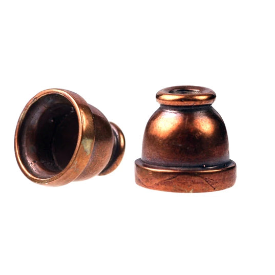 Bronze Smooth Bead Cone