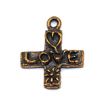 Bronze Love Cross