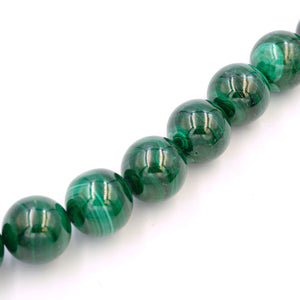 (mal002) 20mm Malachite beads