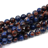 "6mm Round ""Sunset"" Sodalite"
