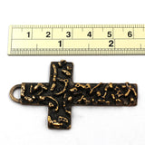 Textured Bronze Cross