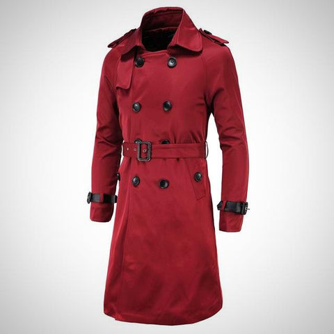 Classic Trench Coat - -ENC FASHION-