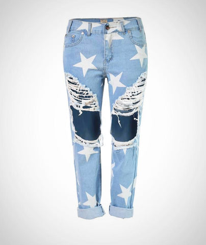 Star Boyfriend Ripped Jean
