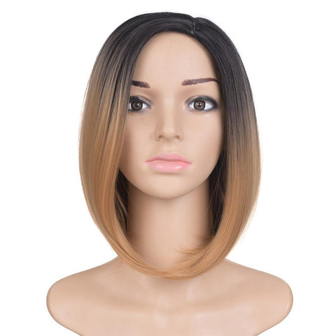 Ombre Color Bob Wig
