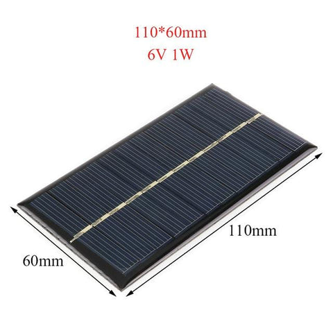 Solar Panel 6V 12V Portable Module DIY Small Solar Panel for Cellular Phone