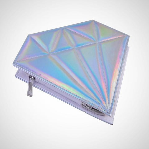 Diamond Rainbow Makeup brush Bag - -ENC FASHION-