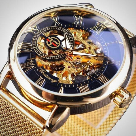 Transparent 3D Mechanical Watch | -ENC FASHION-