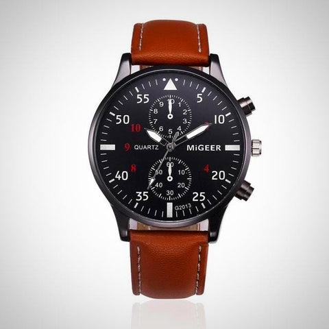 Business Leather Watch | -ENC FASHION-