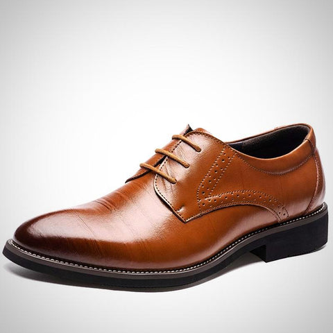 High Quality Genuine Leather  Business Dress Shoes