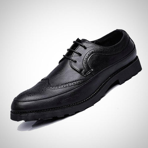 Luxury Leather Brogue Shoes