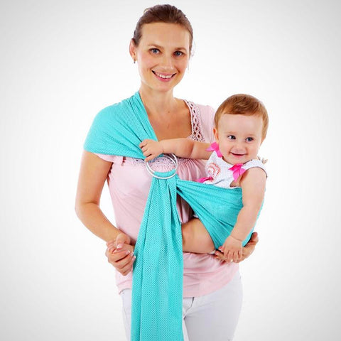 Adjustable Ring Sling Baby Wrap Carrier