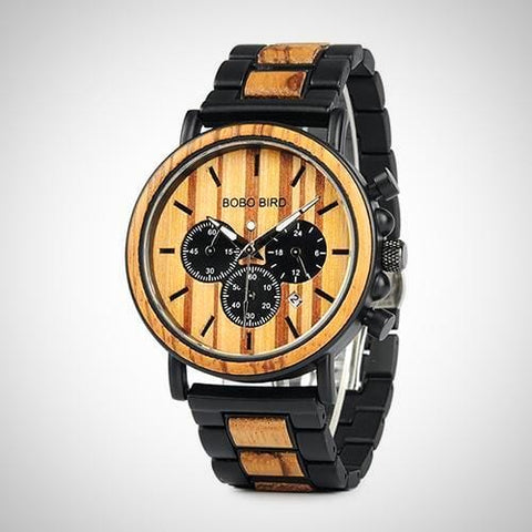 Wooden Luxury Watch | -ENC FASHION-
