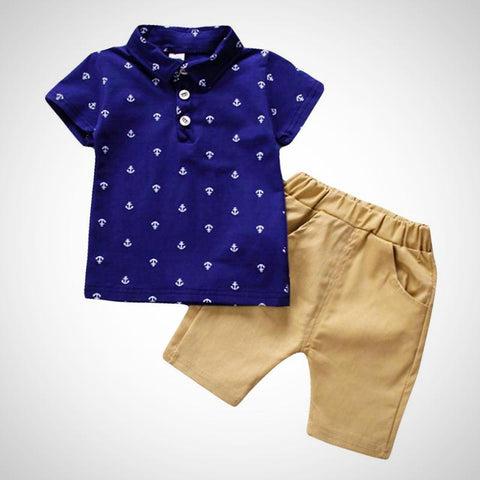 Summer Short Sleeve Boy Set