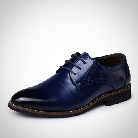 High Quality Men Brogues Shoes Lace-Up Bullock