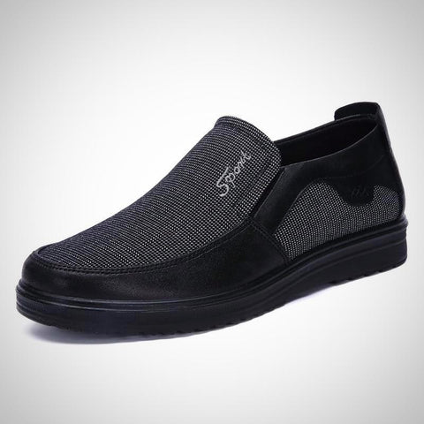 Old Style Breathable Cloth Slip On Shoes