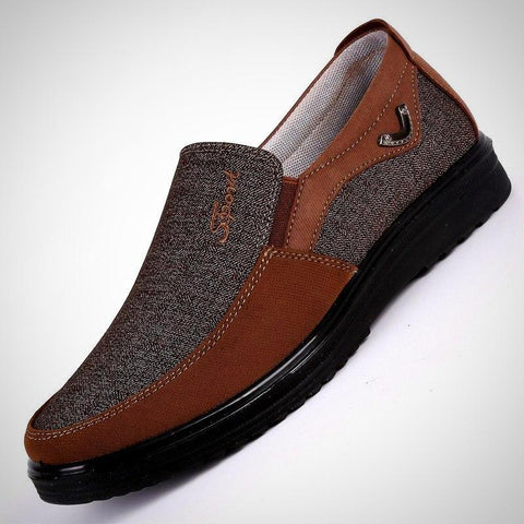 Men's Shoes Comfortable Breathable Loafers Slip-on